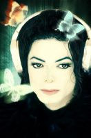 Michael Jackson Butterflies by SheHex