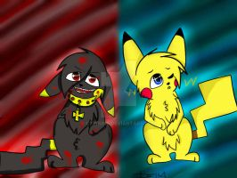 Bad Or Good Pika {Redone} by Delta-kitty