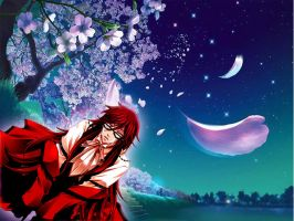 Grell alone by HyperBouwerns