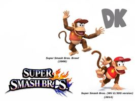 Diddy Kong (Super Smash Bros. Evolution) by delvallejoel