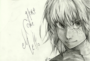 Here come Mello by limo-the-cat