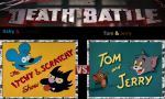 Itchy & Scratchy vs. Tom & Jerry by cartoonfan22