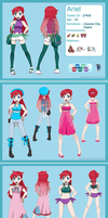 Pokemon trainer Ariel by Hapuriainen