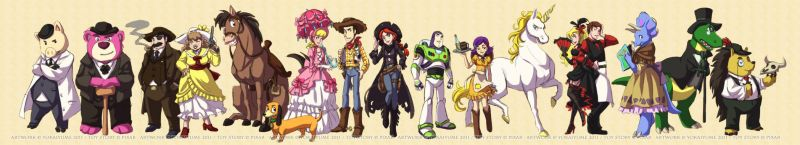 TS Outlaws: Line 'em Up by YoukaiYume