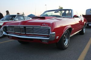 Cherry Convertible Cougar by KyleAndTheClassics