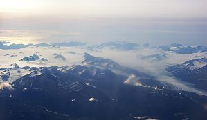 flight to Kodiak shining sea by CorazondeDios