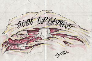 GODS CREATION Tattoo Design by NarcissusTattoos
