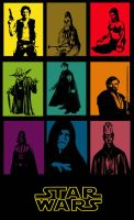 Star Wars Pop Art by RetardMessiah