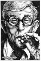 George Burns by timwann