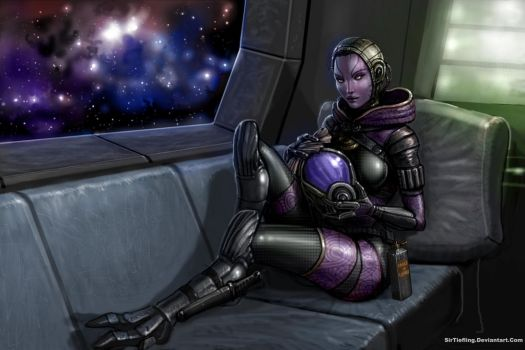 Balance Of Sexy: Tali by SirTiefling