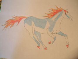 Fire horse by x----eLLiE----x