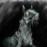 Kelpie by DarkmaneTheWerewolf