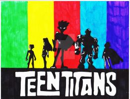 Teen Titans by R-Harris200