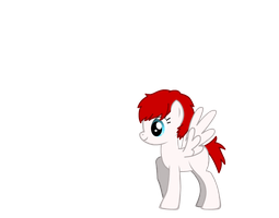my oc pony (without cutie mark) by PandDoodle