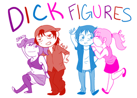 Dick Figures Cast by XxUkarixX