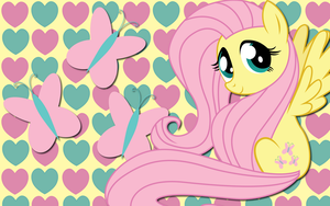 Fluttershy wallpaper 10 by AliceHumanSacrifice0