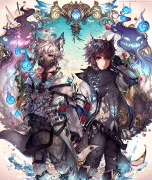 The wanderers by kawacy