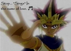 Atem singing? by bushabunny