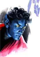 Nightcrawler sketch by felipemassafera