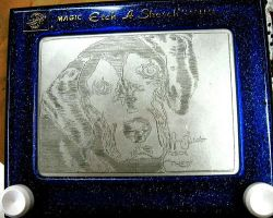 Theo etch a sketch by pikajane
