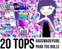 +20 Tops by AguSwaggyGirl