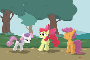 Cutie Mark Crusaders. by Eriada1992