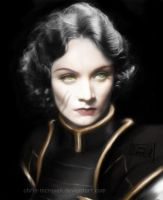 Marlene Dietrich as Lin Bei-Fong by Chris-McRaven