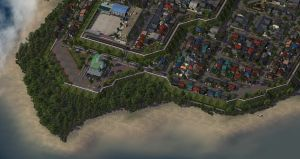 Tokuwa Town by Forthwall