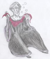 Frollo and the Scarf by yami0815