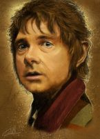 Bilbo-paint by Futurenoir