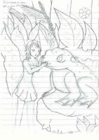 """Fairy and a frog """"No Color"""" by mxmxm"""