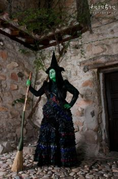 Elphaba The wicked witch by saethewitch