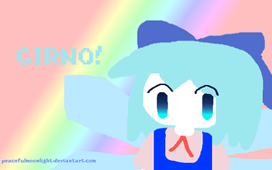 Cirno GIMP test by PeacefulMoonlight