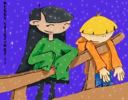 Kuki and Wally by Ajir