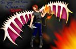 The bigger the Flame the darker the DEMON by animelovesmanga801