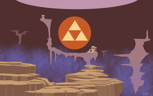 ALTTP Golden Land [Flat Colors] by BLUEamnesiac