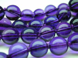 Flawless amethyst beads by nellyvansee