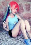 Rainbow dash Cosplay [1] by LadyNoa