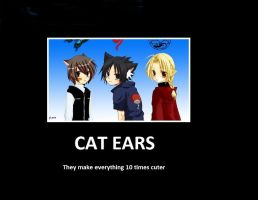 Cat Ears by xHay-Chanx