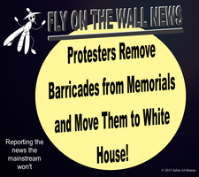 Protesters Move Barricades To White House! by IAmTheUnison