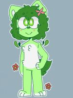 leafy is here! by spoiledegg