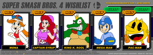 Super Smash Bros 4 Wishlist Meme by TuxedoMoroboshi