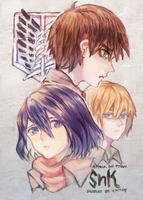 SNK childhood team idk by yune-d