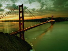 Golden Gate Bridge by PC2012