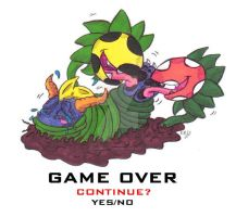 Spyro Tickle Torture: Game Over in Crocovile Swamp by KnightRayjack