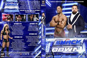 WWE SmackDown September 2012 DVD Cover by Chirantha
