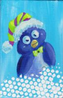 Holiday Penguin by WindDrifter
