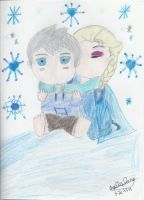My Guardian Snow Angel (JackxElsa) by WhatIGet4BeingANerd