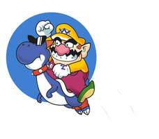Super Wario World by StevenRayBrown
