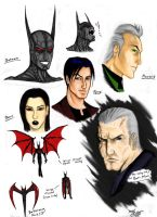 The Cast of Batman Beyond by kanefinger1939